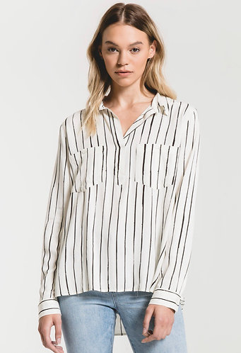 Rag poets stripes dress shirt