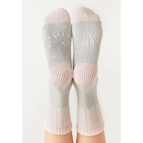 """Z supply """"nama stay in bed"""" socks"""