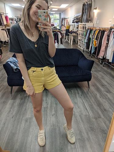 Kut mustard shorts