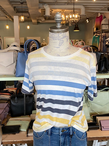 Striped z supply top