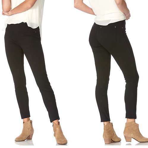 Curvy fit jeggings-black and dark blue in stock