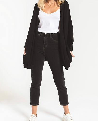 Black fleece Cardi