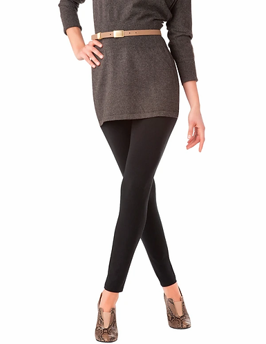 Hue Wide Waistband Ultra Cotton Leggings