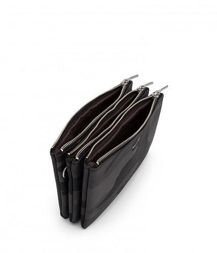 Black  camo Matt and nat triplet purse