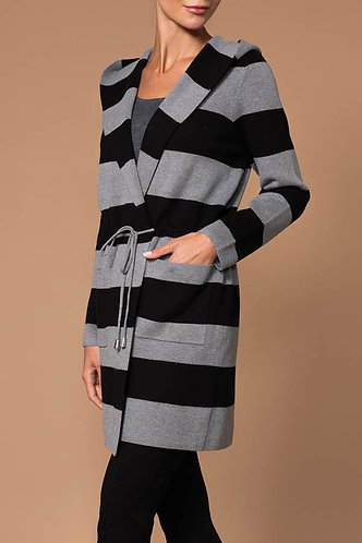 Stripe Knit Elena Wang Jacket