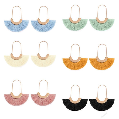 Fringe earrings