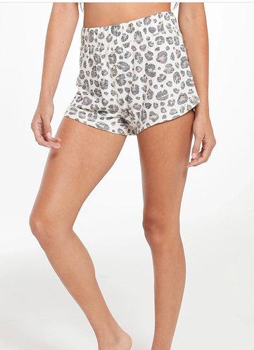 Z supply animal print soft lounge shorts