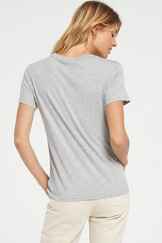z supply grey modal t shirt