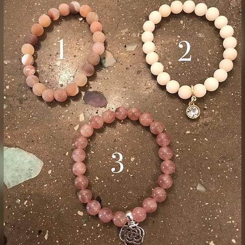 Gemstone Stacking Bracelet