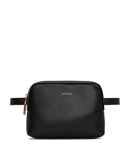 Paris belt bag black/rose gold Matt & Nat