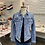 Thumbnail: Blue denim jacket with sequins