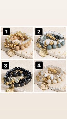 Chunky 3 bracelet set