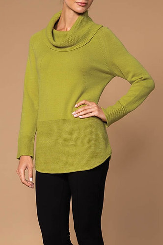 Lime Elena Wang Turtle Neck