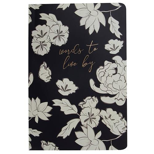 """""""Words To Live By"""" Note Book"""