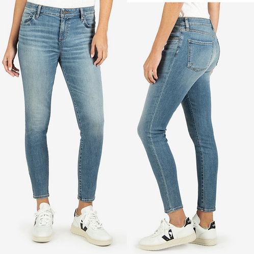 Kut Donna high rise ankle skinny chances wash