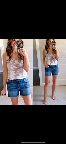 Gidget fray shorts