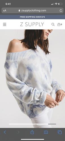 Rag poets tie dye sweater
