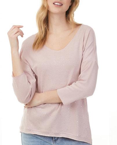 Charlie B Sparkling knit long sleeve