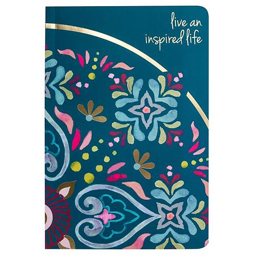 """""""Live An Inspired Life"""" Note Book"""
