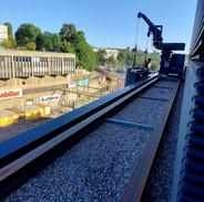 Bahnhof Bern - wo der Chef noch selber Hand anlegt :)