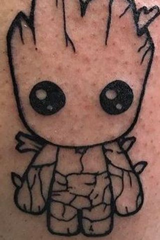 Groot Tattoo