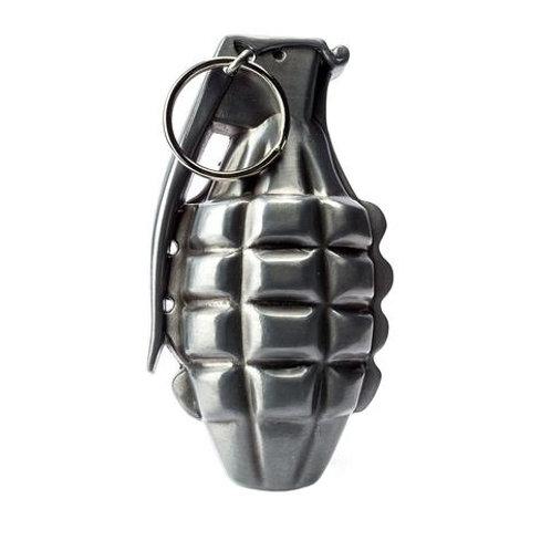 Grenade Styled Belt Buckle by Hot Buckle for Standard Width Belt