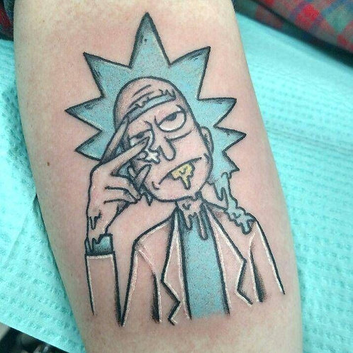 Rick and Morty Tattoo