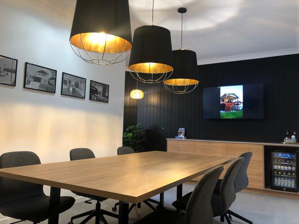 Custom Designed and Built Boardroom Desk