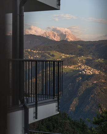 Ferienwohnung in Unterinn - Ritten mit Ausblick auf Steinegg Südtirol