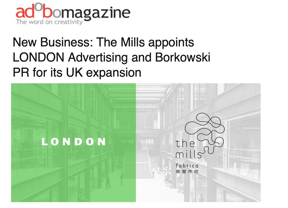 We're gonna need a bigger office - The Mills is our latest new biz win