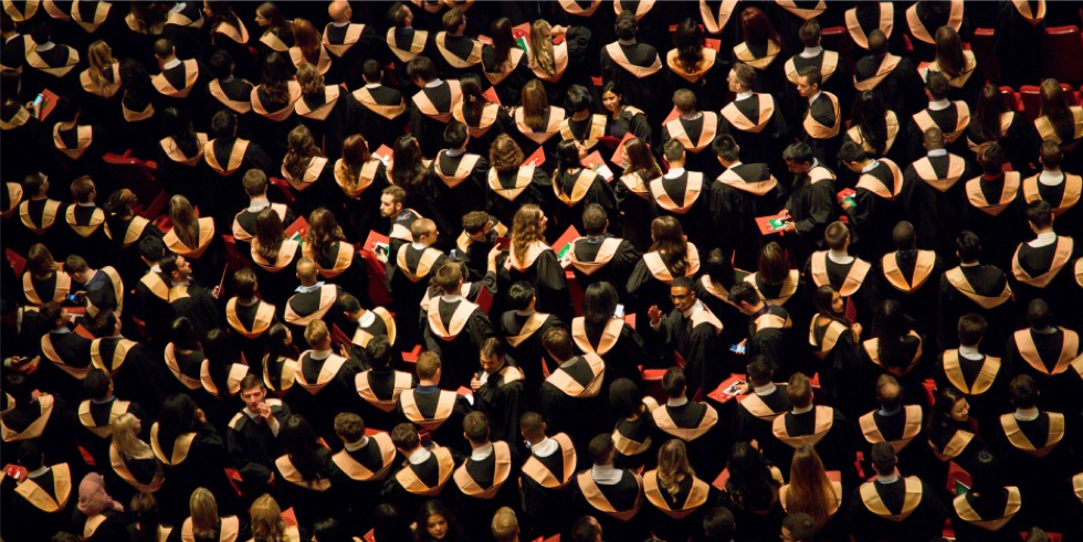 How does a young graduate break into advertising today?