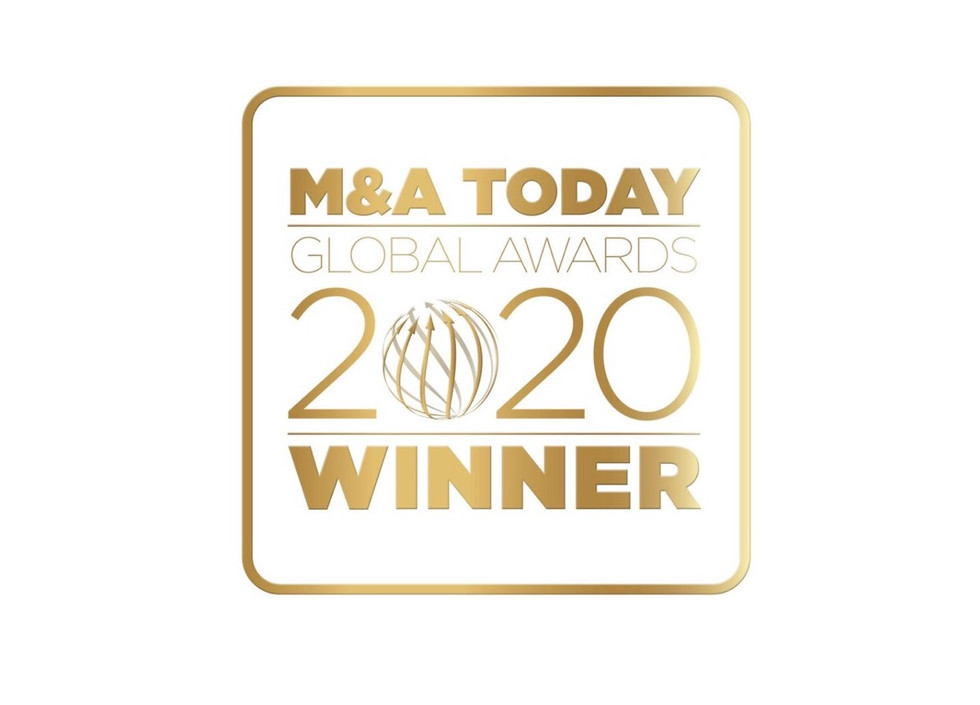 Best Advertising Agency of the Year 2020 - M&A Today. Brilliant.