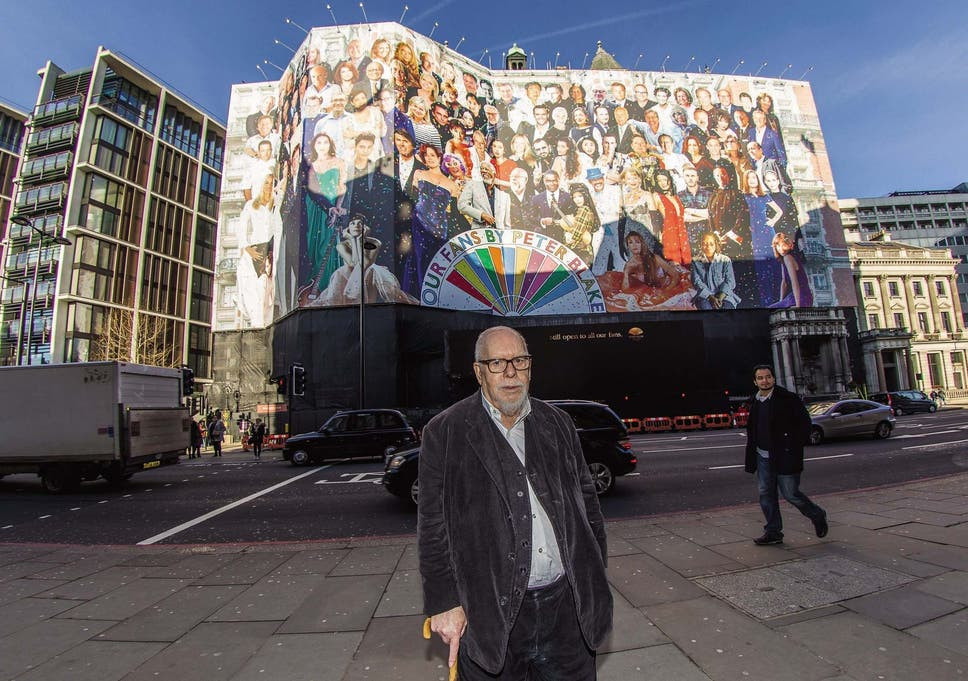Sir Peter Blake's largest artwork to be won in Mandarin Oriental's 'Our Fans' competition