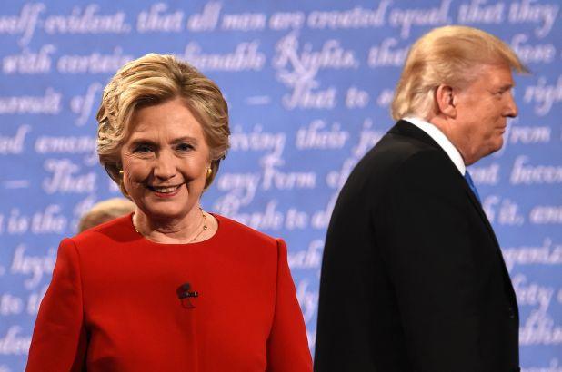 Michael backs Clinton to win. He's never wrong!