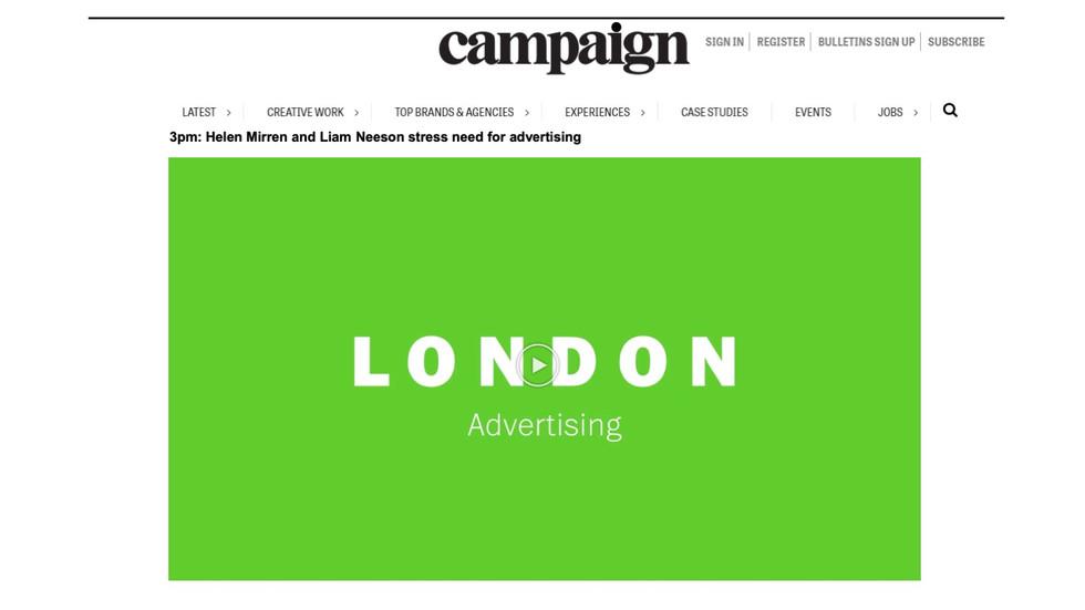 Our campaign. In Campaign.