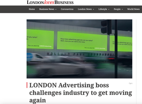 Michael challenges advertising industry to get moving