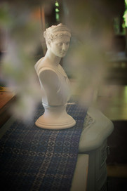 A romantic bust