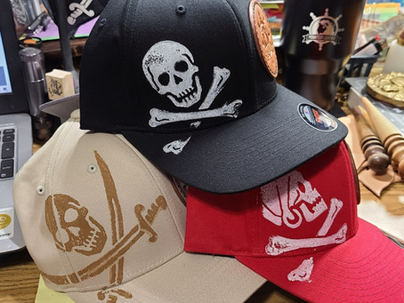 Hats available! New gun molds!