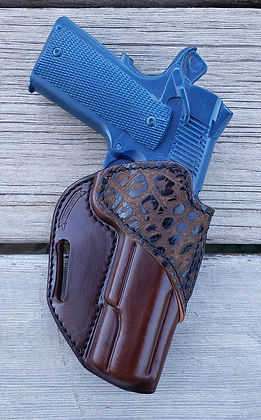 Explorer 1911 dk brown safari deep croco