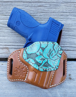 Highwayman MP Shield walnut turquoise fl