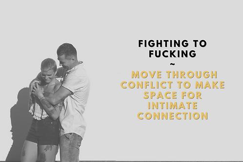 FIGHTING TO FUCKING
