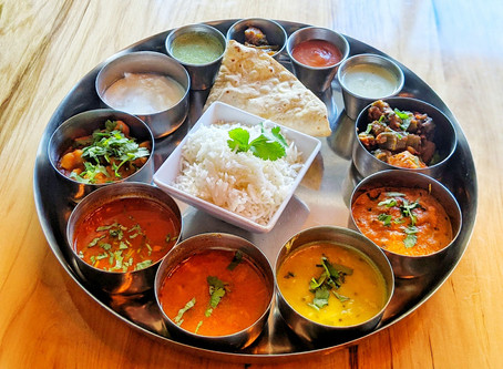 South Indian Thali - the answer to your cravings