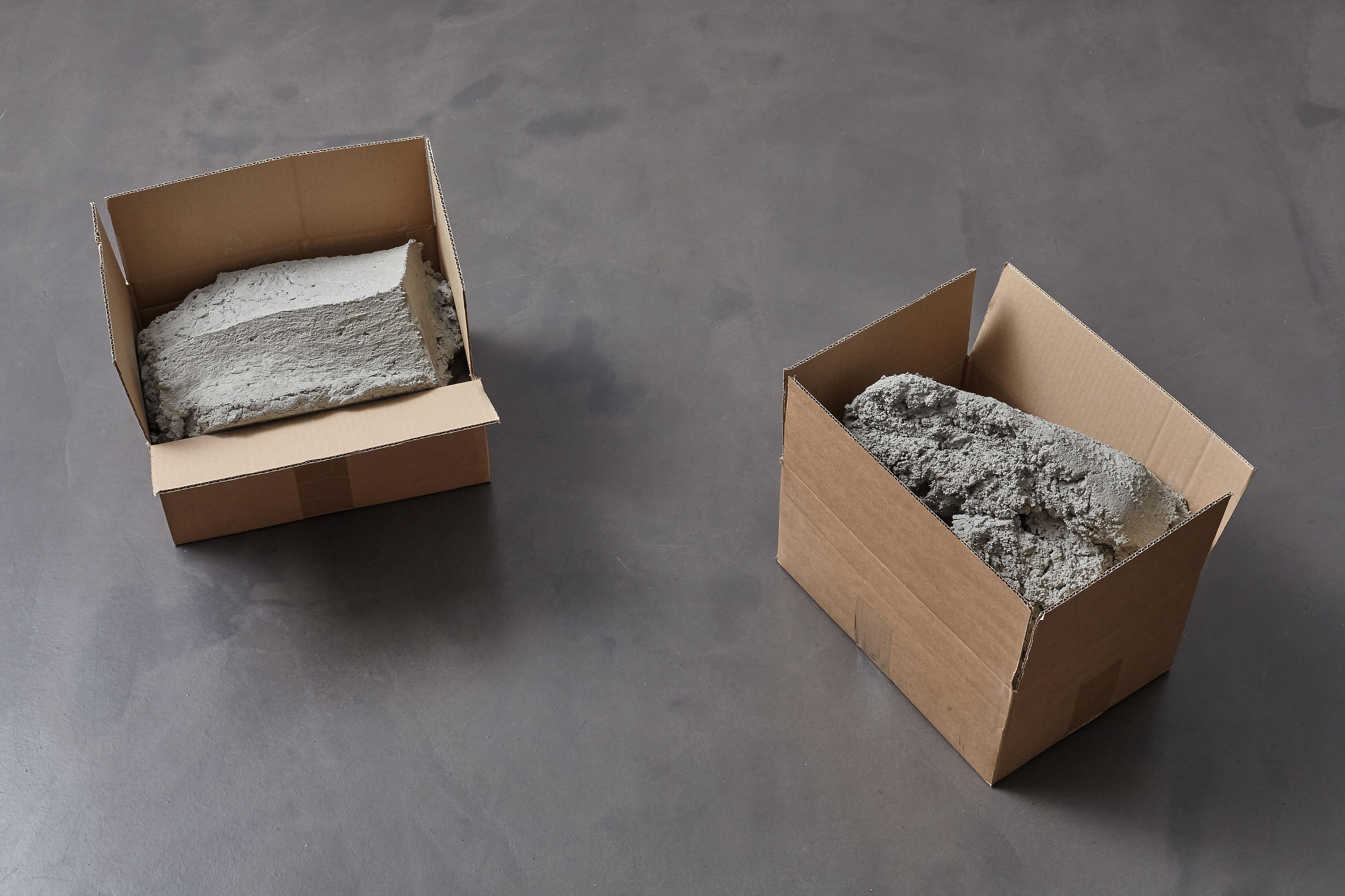 Christoph Weber, Carton pierres, 2016
