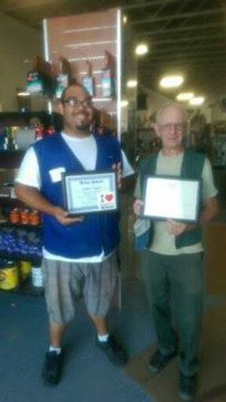 September Employees of Month