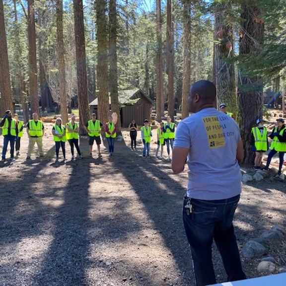 Volunteer at Camp Fresno