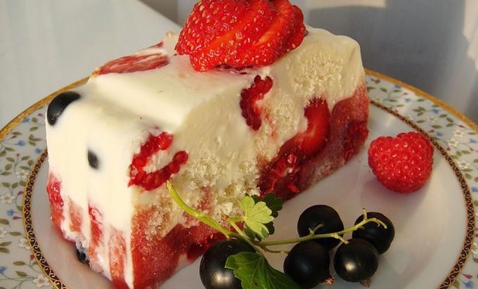 Літній торт без випічки