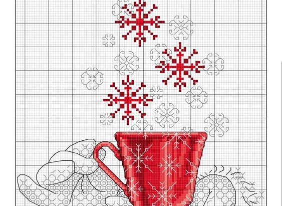 Скоро Новий рік! Декілька ідей для вишивки