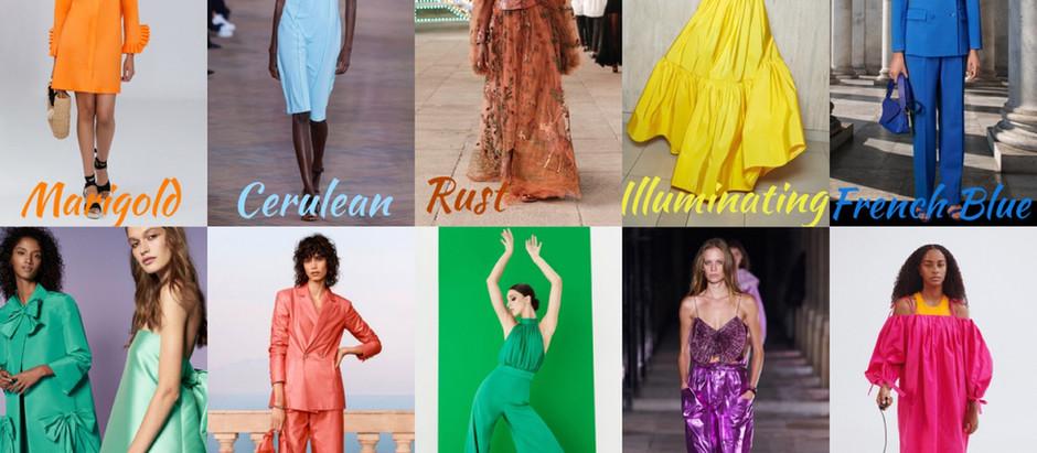 Модні кольори на літо 2021