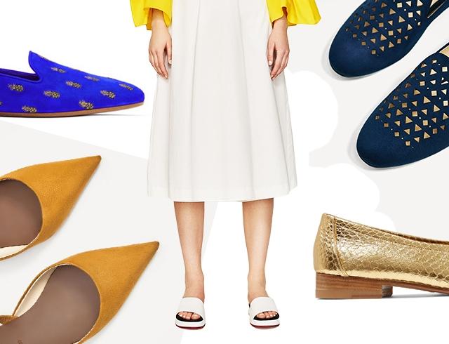 Модне взуття без підборів на весну  гід по стилю  9ea18e8b1dc34
