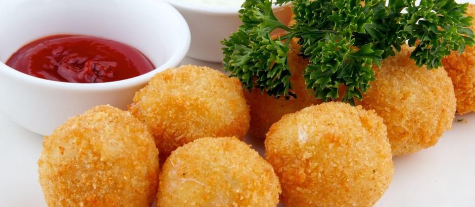 Картопляні кульки з начинкою